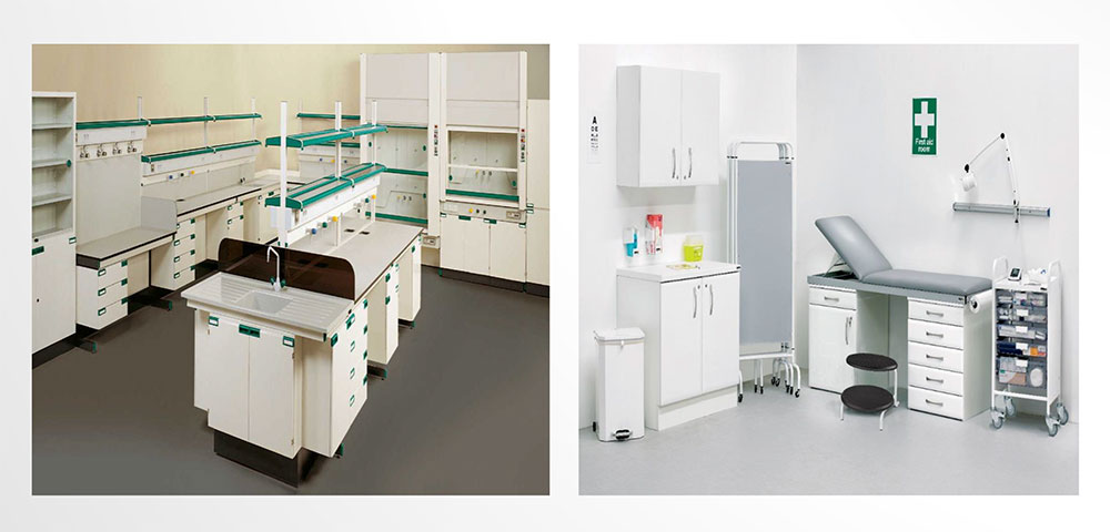 Medical & Laboratory Furniture – Woodmans Groups